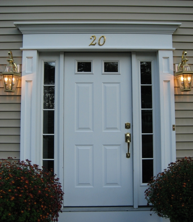 Wonderful Front Door Surrounds Photos - Exterior ideas 3D - gaml.us ...